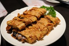 Deep fried bean curd Royalty Free Stock Images