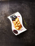 Deep Fried Camembert Royalty Free Stock Images