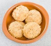 Deep Fried Cheese Balls stock image