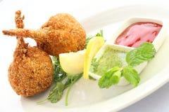 Deep Fried Chicken Drumstick Stock Photo