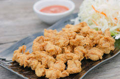 Deep fried chicken tendons Stock Photography