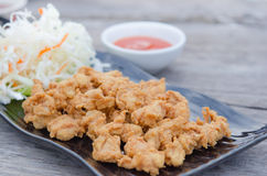 Deep fried chicken tendons royalty free stock photography