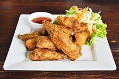 Deep fried chicken wings Stock Photo