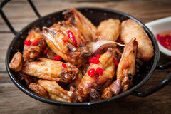 Deep fried chicken Stock Image