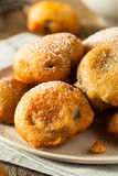 Deep Fried Chocolate Cream Cookies Royalty Free Stock Images