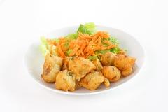 Deep fried codfish Royalty Free Stock Photography