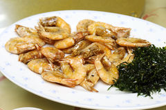 Deep fried crisoy prawn Stock Images