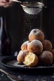 Deep fried dough balls Royalty Free Stock Image