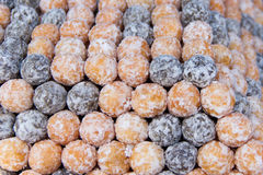 Deep fried dough Royalty Free Stock Images