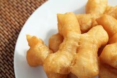 Deep-fried dough stick. Chinese doughnut or deep-fried dough stick Stock Photos