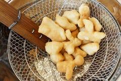 Deep-fried dough stick Royalty Free Stock Image