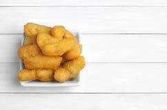 Deep fried dough stick Stock Photo