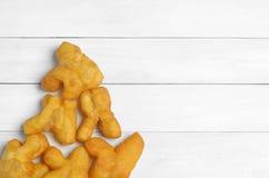 Deep fried dough stick Stock Image