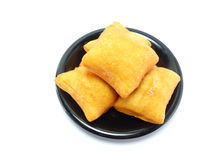Deep fried dough sticks Stock Photos