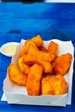 Deep-fried doughstick Stock Photo