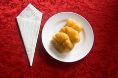 Deep-fried doughstick Royalty Free Stock Photos