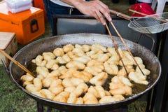 Deep-fried doughstick Royalty Free Stock Photo