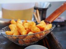 Deep fried doughstick Stock Photos