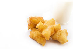 Deep-fried doughstick Royalty Free Stock Image