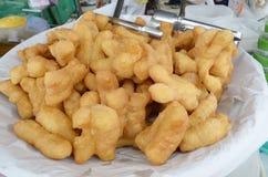 The Deep Fried Doughstick. stock photo