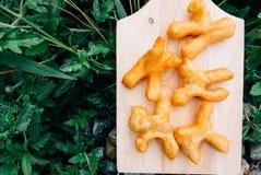 Deep-fried doughstick Royalty Free Stock Image