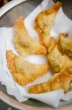 Deep fried dumplings Stock Photos