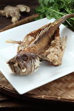 Deep fried fish Royalty Free Stock Photo