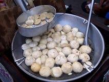 Deep fried fish balls Stock Photo