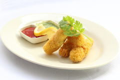 Deep Fried Fish Finger Royalty Free Stock Image
