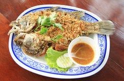 Deep fried fish Stock Photos