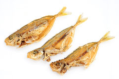Deep Fried Fishes Royalty Free Stock Photo