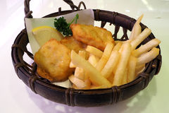 Deep fried food Royalty Free Stock Photography