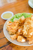 Deep fried fresh squid and seafood Stock Photography