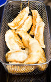Deep Fried Gyoza. Stock Image