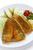 Deep fried horse mackerel Stock Images