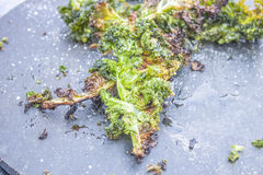 Deep fried kale Stock Photography