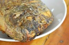 Deep fried mango fish on dish Stock Photos