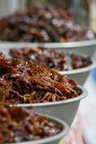Deep fried marinated beef and pork Stock Photography