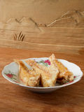 Deep fried Ornate bream fish seafood Stock Image