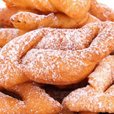 Deep-fried pastry carnival Stock Images