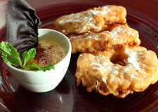 Deep Fried Pineapple Royalty Free Stock Photography