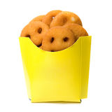 Deep-fried potatoes Stock Photos