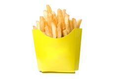 Deep-fried potatoes Stock Photo