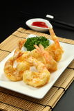 Deep Fried Prawn. Oriental deep fried prawns or tempura prawn Royalty Free Stock Images