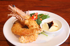 Deep Fried Prawn Stock Images