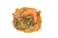 Deep Fried Prawn Fritter Royalty Free Stock Photo