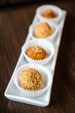 Deep fried rice balls- chinese dessert Stock Image