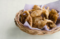 Deep fried sajor-caju mushroom Stock Photography