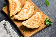 Deep fried  samosas Stock Image