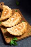 Deep fried  samosas Stock Images
